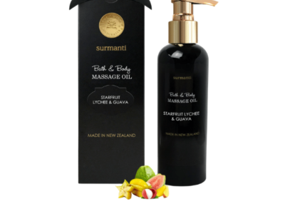 surmanti body and massage oil
