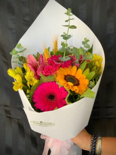 Vintage bloom Tokoroa florist pretty bunch bouquet