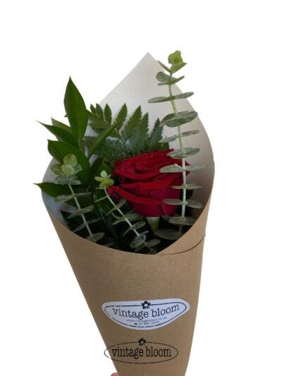 tokoroa florist roses bouquet single rose